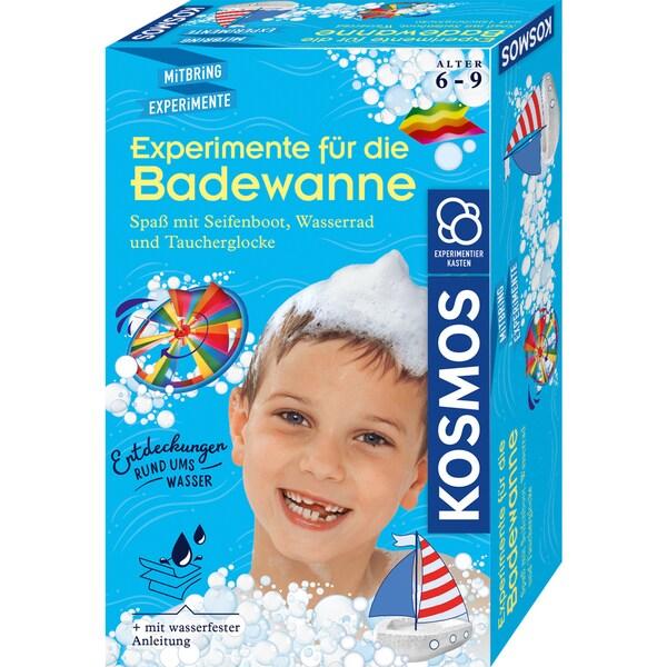 Kosmos Verlag Experimentierkasten Experimente für die Badewanne