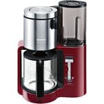 Siemens Filterkaffeemaschine TC86304 rot Edelstahl/Glas/Kunststoff
