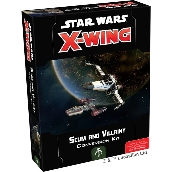 Asmodee Tabletop Star Wars X-Wing 2. Edition: Abschaum und Kriminelle Konvertierungsset