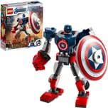 Lego Marvel Super Heroes Captain America Mech