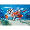 Playmobil Konstruktionsspielzeug Spy Team Underwater Wing