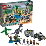 Lego Konstruktionsspielzeug Jurassic World Baryonyxs Kräftemessen: die Schatzsuche