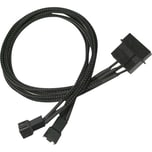 "Nanoxia Adapter 4-Pin 2,5"" > 2x3-Pin"