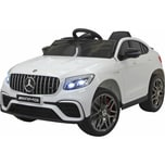 Jamara Kinderfahrzeug Ride-on Mercedes-Benz AMG GLC 63 S Coupé weiß