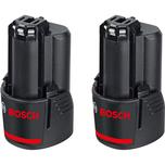 Bosch Akku Pack GBA 12V 3,0 Ah 2 Stück