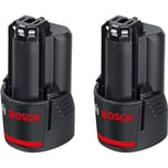 Bosch Li-Ion Akkupack GBA 12V 3,0Ah 2 Stück