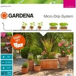Gardena Tropfsystem Start-Set Pflanztöpfe M, 68-teilig
