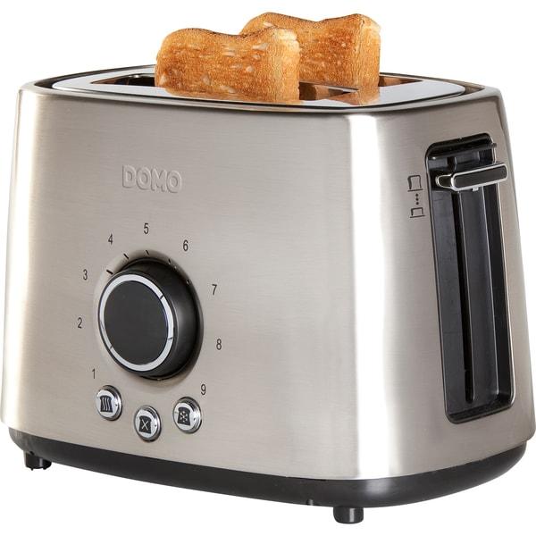 Domo Toaster Retro-Look DO956T silber