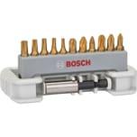 Bosch Bit-Set Max Grip, 11+1-teilig
