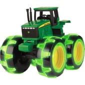 Tomy Modellfahrzeug Traktor John Deere Monster Treads leuchtende Räder