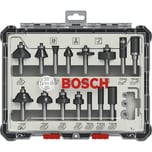 Bosch Fräser-Set 15-teilig