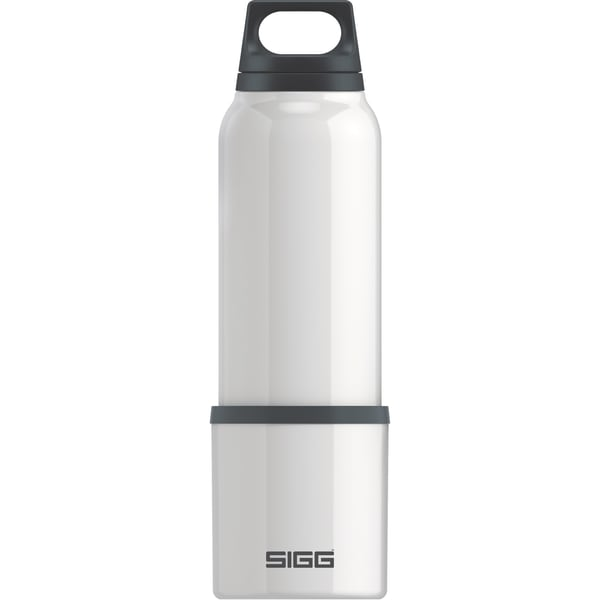 Sigg Thermosflasche Hot & Cold White 0,75 Liter
