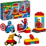 Lego Konstruktionsspielzeug DUPLO Iron Mans Labor-Treffpunkt