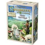 Asmodee GmbH Brettspiel Carcassonne - Schafe und Hügel