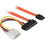 goobay Adapter S-ATA 2in1 Datensignal + Stromadapter