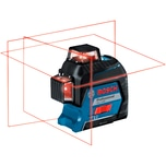 Bosch Linienlaser GLL 3-80 Professional + Baustativ BT 150