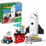 Lego Konstruktionsspielzeug DUPLO Spaceshuttle Weltraummission
