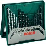 Bosch Bohrer-Satz Mini X-Line Mixed Set 15-teilig