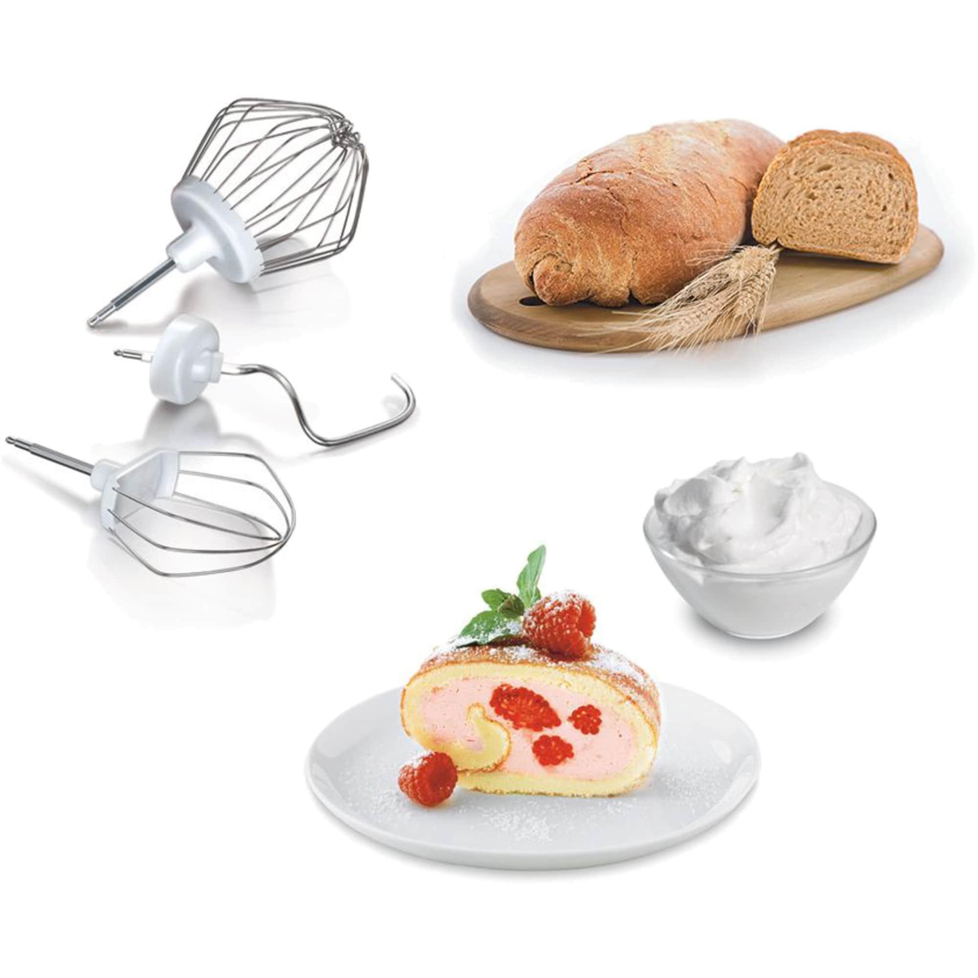 Bosch Küchenmaschine MUM 4825 weiß-rot