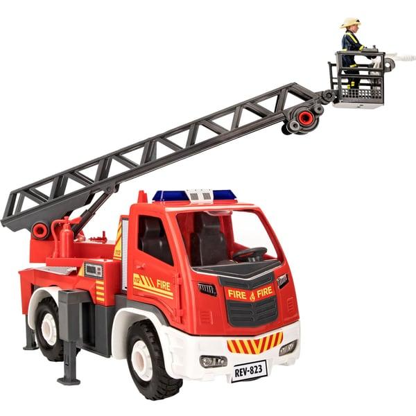 Revell Spielfahrzeug Junior Kit Feuerwehr Leiterwagen