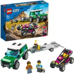 Lego City Rennbuggy-Transporter