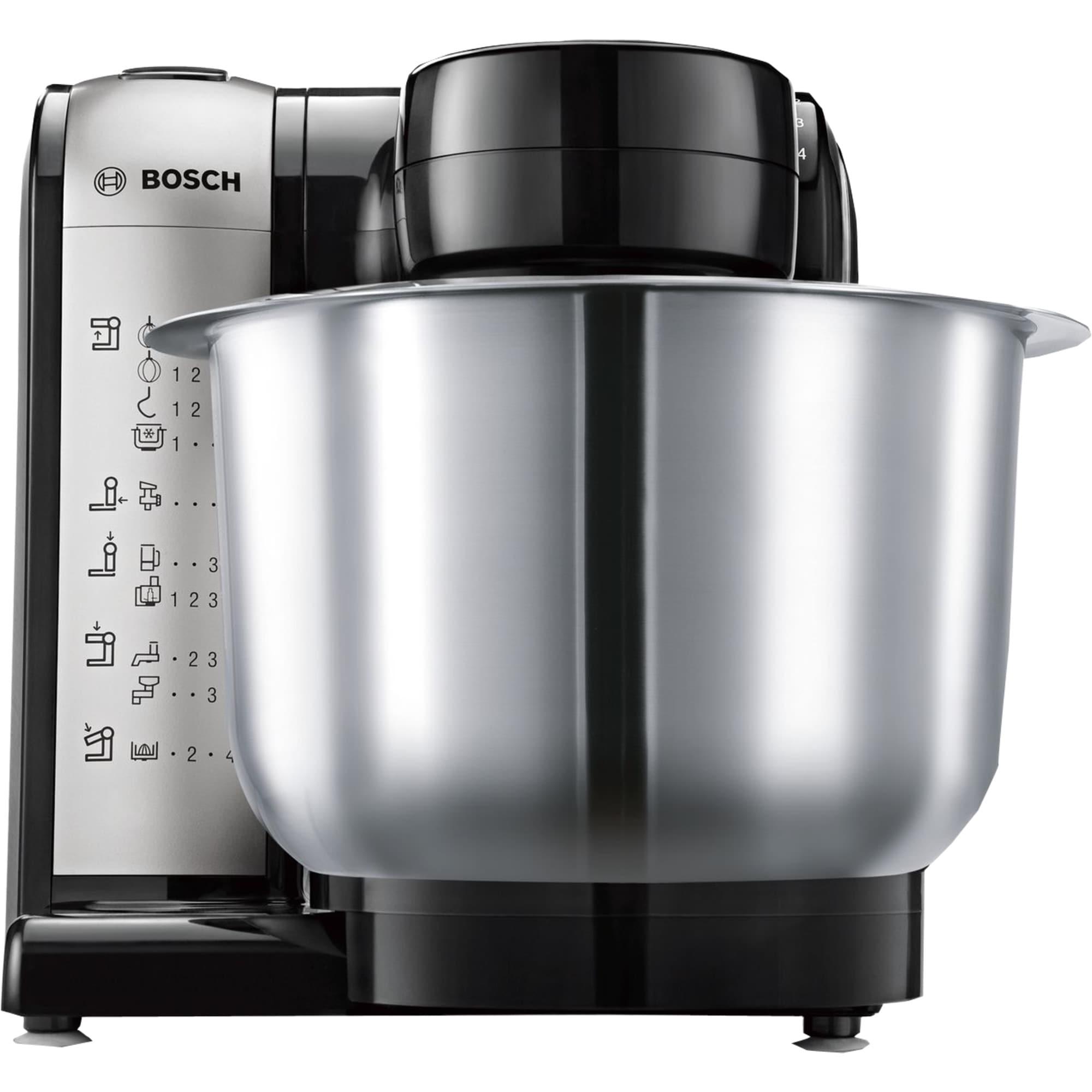 Bosch Küchenmaschine MUM48A1 grau-silber bei REWE online bestellen!