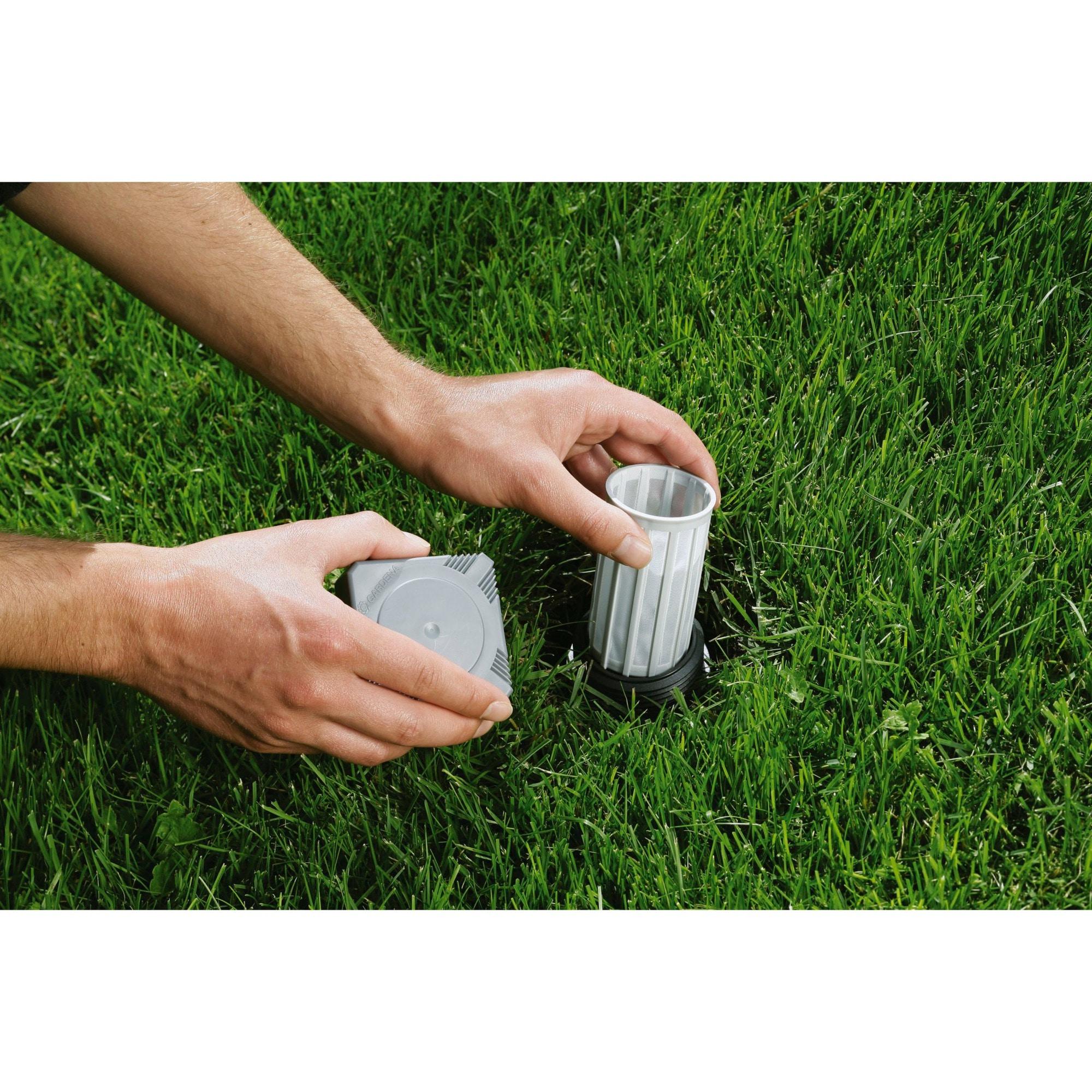 Gardena Zentralfilter für Sprinkler