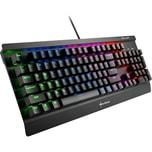 Sharkoon Gaming-Tastatur SKILLER MECH SGK3 Kailh Blue, US-Layout