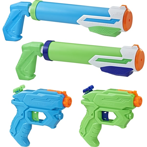 Hasbro Wasserpistole Super Soaker Party 4er-Pack
