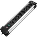 Brennenstuhl Steckdosenleiste Premium Alu Line 8fach