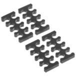 Alphacool Kabelführung Eiskamm X8 - 3mm
