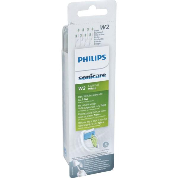 Philips Aufsteckbürste Sonicare HX6068/12 W2 Optimal White 8er
