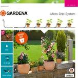 Gardena Tropfsystem Start-Set Pflanztöpfe S 13000