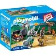 Playmobil Konstruktionsspielzeug StarterPack Kampf um den Ritterschatz