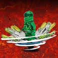 LEGO Ninjago Lloyds Spinjitzu-Kreisel