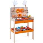 Hape Kinderwerkzeug Tüftler Werkbank