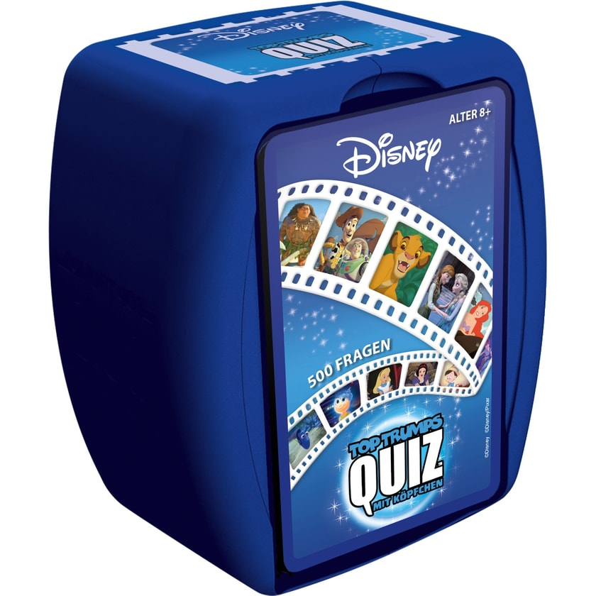 Winning Moves Quizspiel Top Trumps Quiz Disney