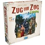 Asmodee GmbH Brettspiel Zug um Zug Europa 15 Jahre Edition