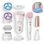 Braun Epiliergerät Silk-épil 9-975 SensoSmart Beauty Set 9