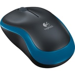 logitech Maus Wireless Mouse M185 blau