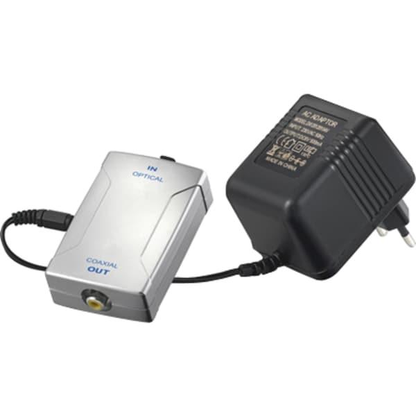 goobay Adapter Wandler Toslink -> Koaxial digital