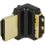DeLOCK Adapter HDMI-A Stecker > HDMI-A Buchse 4K schwarz