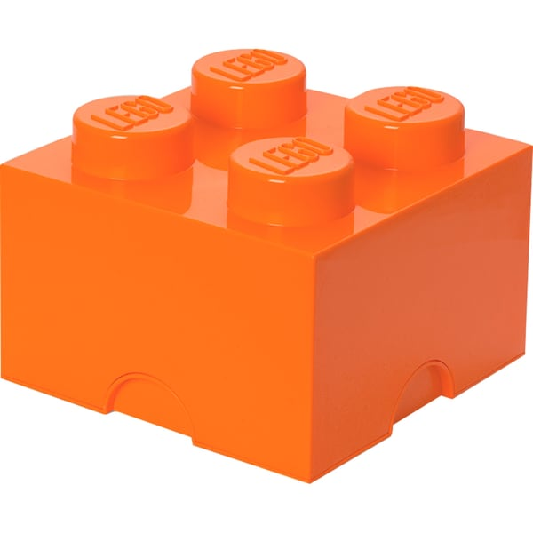 Room Copenhagen Aufbewahrungsbox Lego Storage Brick 4 orange