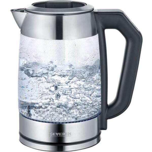 Severin Wasserkocher Digital Glas Tee- und Wasserkocher WK 3477