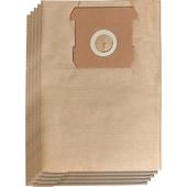 Einhell Staubsaugerbeutel Schmutzfangsack 15L, 5 Stück