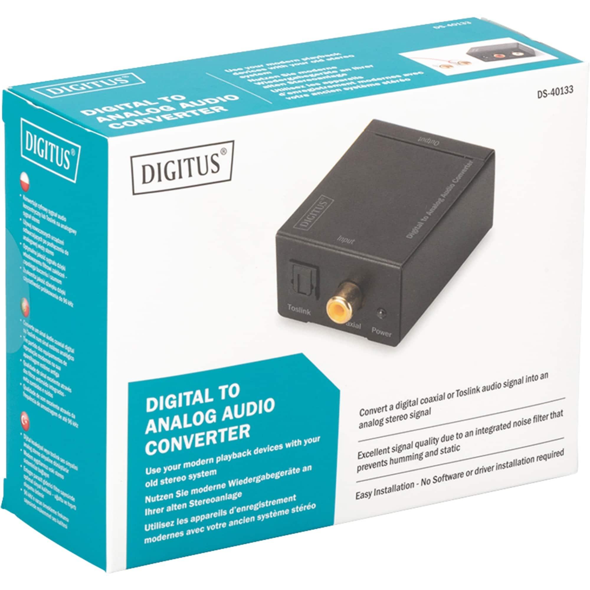 Digitus Konverter Digital zu Analog Konverter DS-40133