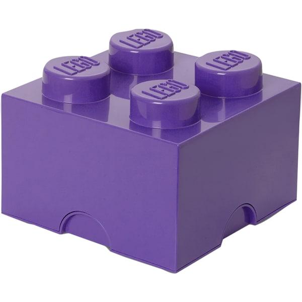 Room Copenhagen Aufbewahrungsbox LEGO Storage Brick 4 lila