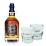 Chivas Regal 18 Jahre Blended Scotch Whisky Set mit 2 Gläsern 40% 700 ml
