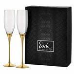 Eisch Sektglas 2er Set Gold Champagner Exklusiv 180 ml