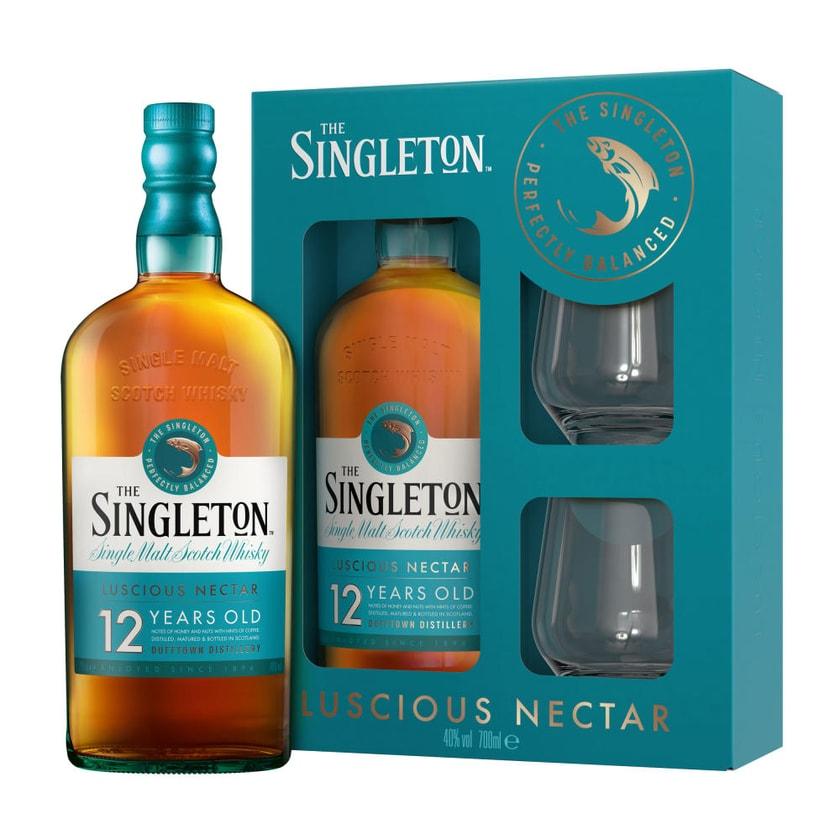 Singleton Of Dufftown 12 Years Box mit 2 Gläsern 40% 700 ml